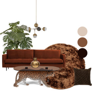 Woonkamer compleet Bold and Gold