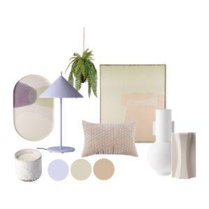 Accessoires compleet Pastel dream